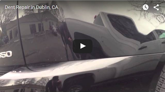 Dublin, CA Dent Repair Before and After Video