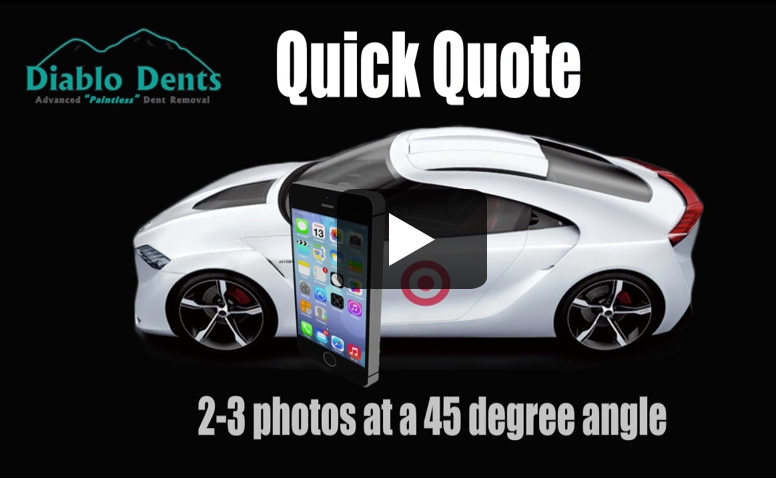 Quick Quote by Text for Dent Repair