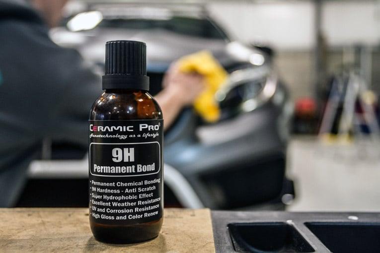 bottle of ceramic coating